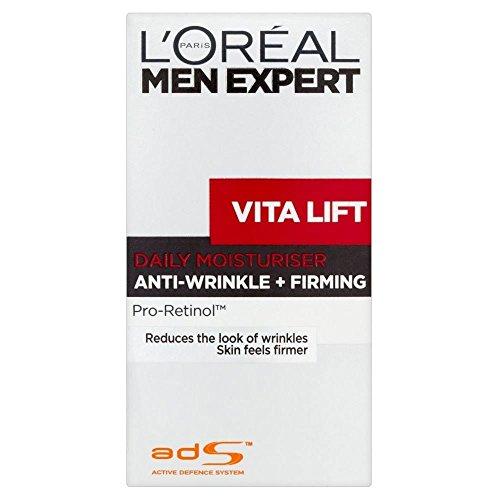 Preisvergleich Produktbild L'Oréal Paris Men Expert Vita Heben Sie die komplette Anti-Aging Feuchtigkeitscreme (50 ml) - Packung mit 2
