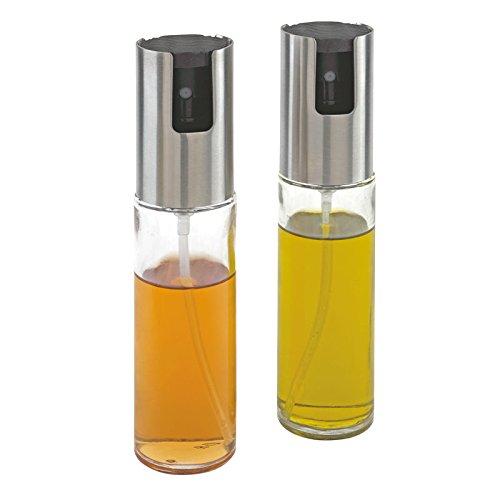 2er Set Öl- und Essigzerstäuber Essigsprüher Ölsprüher Sprüher Essig Zerstäuber (Salat-dressing-sprüher)