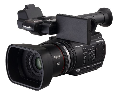 Panasonic ag-ac90 shoulder camcorder 8.04mp mos full hd nero