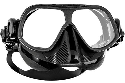 Subgear Tauchmaske Subgear STEEL Comp, erhältlich in 3 verschieden Farben, Farbe:Schwarz