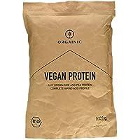 ORGAINIC Bio Natural Vegan Protein - Bio Zertifizierung (DE-ÖKO-006) - 1000 g