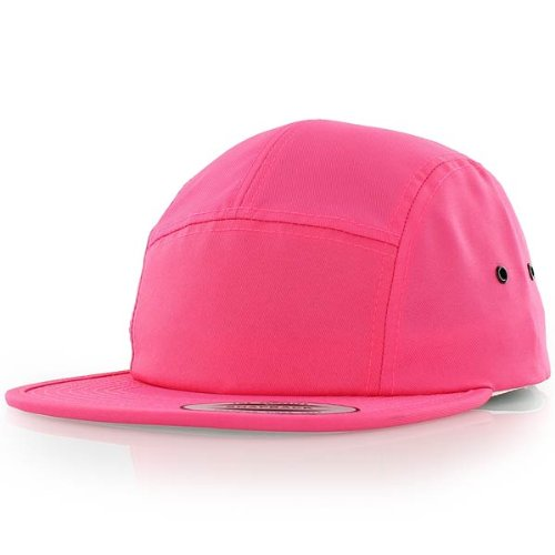 flexfit Baseball Cap Flexfit Jockey 5-Panel neon pink