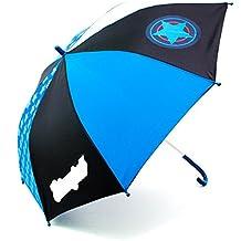itsImagical Stop-Rain Blue Star - Paraguas infantil anti pellizcos, unisex