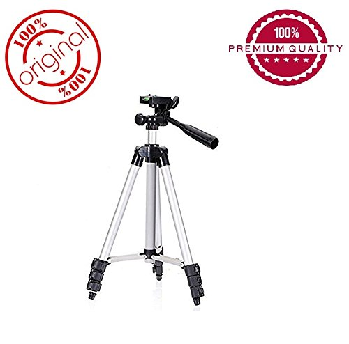 Easypro™ Flexible 4 Sections 105 cm Monopod Camera Tripod + Mobile Phone Holder Tripod Mount Holder with Tripod Carrying Bag… for Samsung Galaxy Note 8