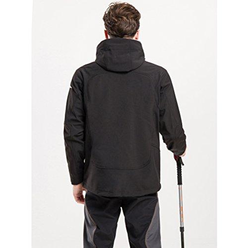 Zhhlaixing Autumn Outdoor Men's Casual Mountain Windproof Coat Loisir Waterproof Jacket green