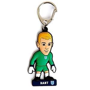 England F.a. PVC Schlüsselanhänger HartJoe Hart-PVC Schlüsselanhänger, ca. 60 mm x 35 mm) in einem blister, offizielles Lizenzprodukt