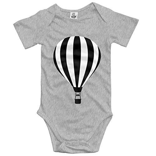 dy Kurzarm Hot Air Balloon Newborn Bodysuits Baumwolle Strampler Outfit Set ()
