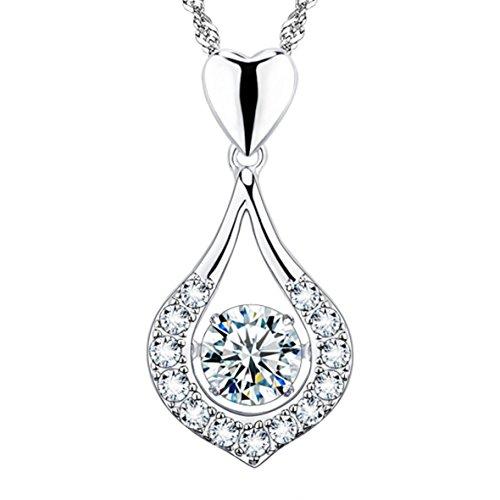 funda-para-usted-es-el-uno-jewelry-twinkling-plata-de-ley-collection-con-colgante-de-corazon