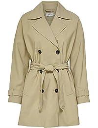 ONLY Damen Mantel Jacke onlARYA COAT OTW Trenchcoat Blazer Übergang Kurzmantel