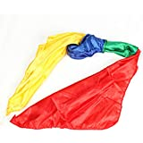 Color Changing Hanky Magic Trick Hanky, Funny Children Magic Scarves Color Changing Silk Hanky Magic Props Scarf For Magic Trick Toys 2Packs