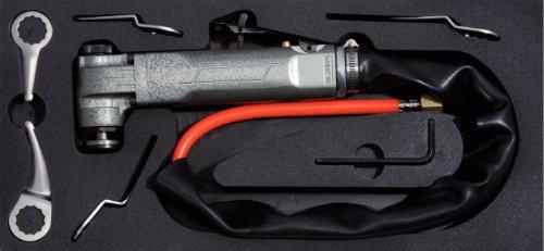 KS Tools 140.2219 - Set cortadora oscilante aire comprimido