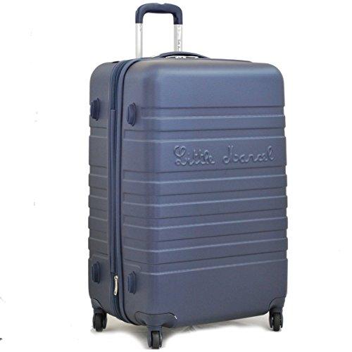Grande valise 70 cm Bleu Marine Little Marcel