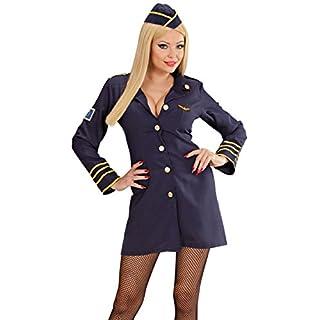 Widmann 44569 Erwachsenenkostüm Stewardess, 34