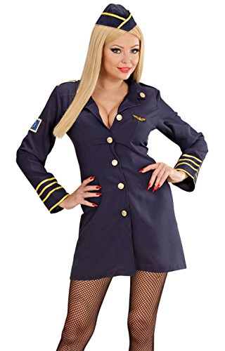WIDMANN 44569 adultes Costume Hôtesse de l'air, 34