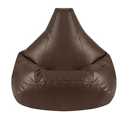 Bean Bag Bazaar Gaming Faux Leather Bean Bag Chair