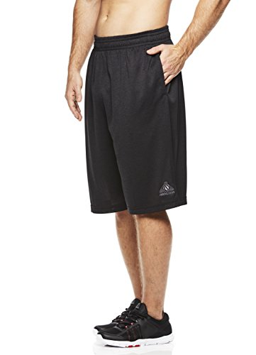 Above the rim Herren Basketball-Shorts, kurz, sportliches Training, Turnier - Schwarz - Klein -