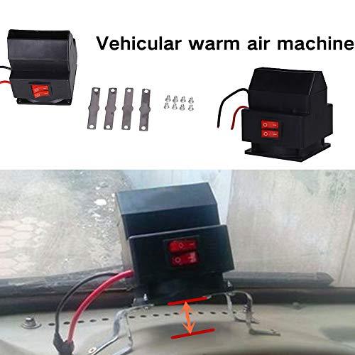 Gulin heater elettrico sbrinatore with dc 12v 150w inverno scaldino macchina