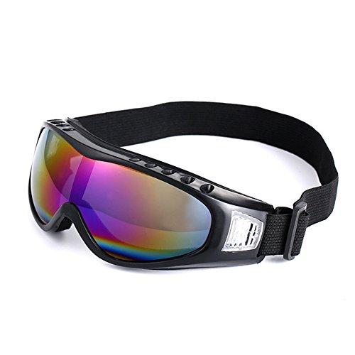 lymty Sport-Sonnenbrille-Schutz-Radfahrengläser mit 5 austauschbaren Objektiven für das Radfahren, Baseball, Fischen, Ski Laufen, Golf