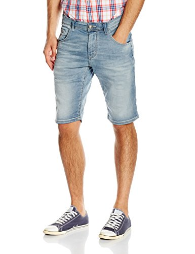 Tom Tailor Denim Short, Jeans Homme Bleu (light stone wash denim 1051)