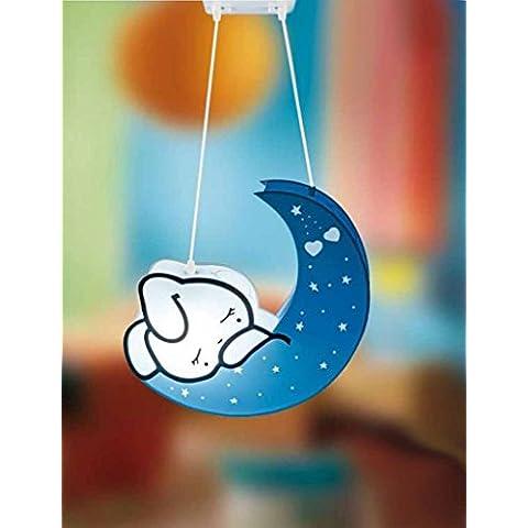 Lámparas Infantiles : Modelo LUNA azul