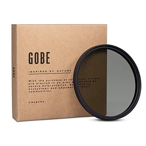 """Gobe - Filtro polarizador CPL 52mm Vidrio """"Japan Optics"""", con Recubrimiento múltiple de 16 Capas"""