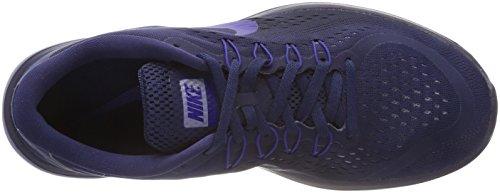 Nike Flex 2017 RN, Scarpe Running Uomo Blu (Mitternacht Marine Blau/tiefes Königsblau-obsidian)