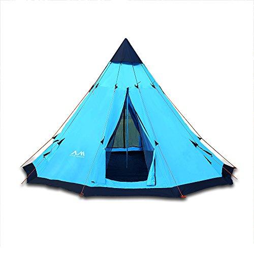 Arctic monsoon tente tipi indienne teepee tent olive 6 - Tente uv decathlon ...