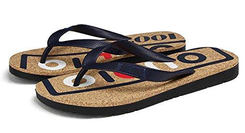 2017 marea lettere stampate alfabeto trascina quotidianamente casual beach sandali scarpe da uomo 1