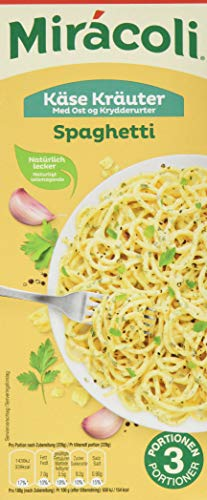 Miracoli Kits Spaghetti Käse Kräuter 3 Portionen 265g