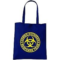 Cotton Island - Borsa Shopping TZOM0027 zombie outbreak response team tshirt