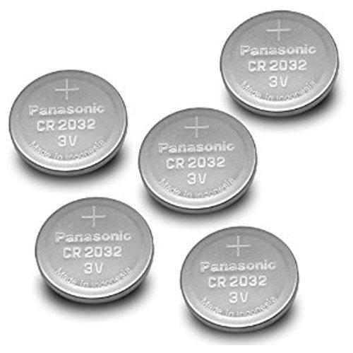 Panasonic CR2032 Pile Bouton (Lot de 20, 3 V) Argent