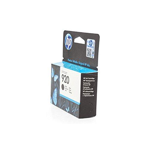 Preisvergleich Produktbild Original Tinte passend für HP OfficeJet 7500 A Wireless HP 920 , 920BK , 920BLACK , NO920 , NO920BK , NO920BLACK , Nr 920 CD971AE - Premium Drucker-Patrone - Schwarz - 420 Seiten - 12 ml
