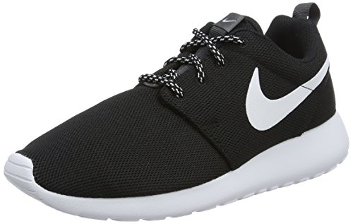 Nike Roshe One, Scarpe da Corsa Donna, Nero (black/white-dark gray), 39