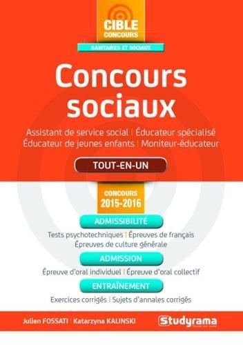 Concours sociaux - concours 2015-2016