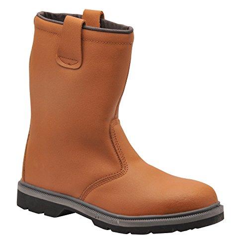 chantier UK FW12 sécurité en gréeur Steelite de 38 et Bronze avec Brun à Tailles Chaussures 13 embout semelle acier 45 bottes UfwwqXd