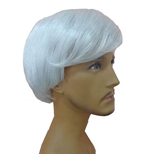 Wickedfun® - parrucca spaventosa da mostro zombie selvatico, accessorio per halloween