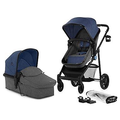 Kinderkraft KKWJULIDEN2000 JULI Multi Kinderwagen Kombi 2in1 Babywagen Buggy Gondel Kombikinderwagen Babywanne