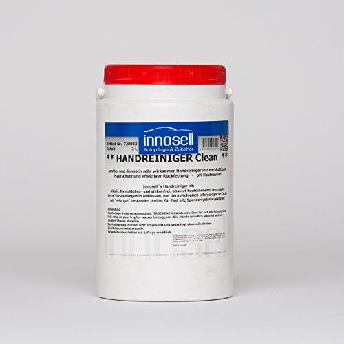 Innosell Handreiniger Clean Handwaschpaste mit Doppelwirkung mild und dennoch kraftvoll 3 L