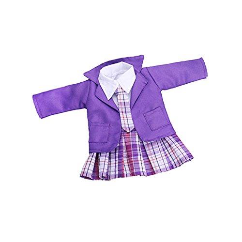 Sharplace Puppen Schuluniform Kleidung Outfit für 18