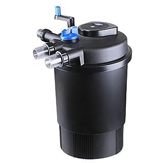 Aquaristikwelt24 CPF 30000 Bio Druckteichfilter 60.000l Teichfilter Bachlauf incl.55 Watt UVC Klärer - Selbstreinigend