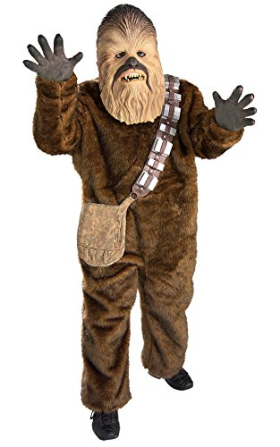 Disney Star Wars Deluxe Chewbacca, Kinder Kostüm – Medium (Chewbacca Deluxe Kind Kostüme)