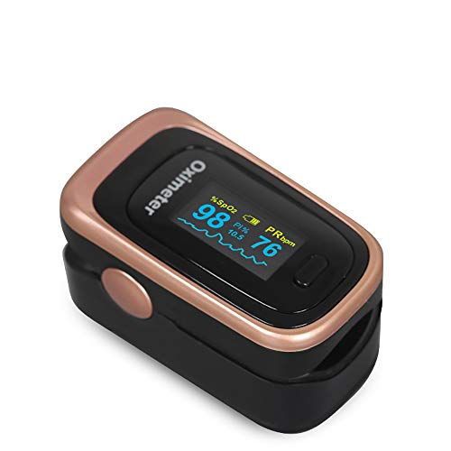 XASY Finger Pulsoximeter,Tragbarer Finger-Pulsoximeter PI-Schlafüberwachungs-Herzfrequenzdetektor Fingerclip Blutsauerstoff Adult Blood Pressure Machines tragbare Herzfrequenzmonitore for Home Use