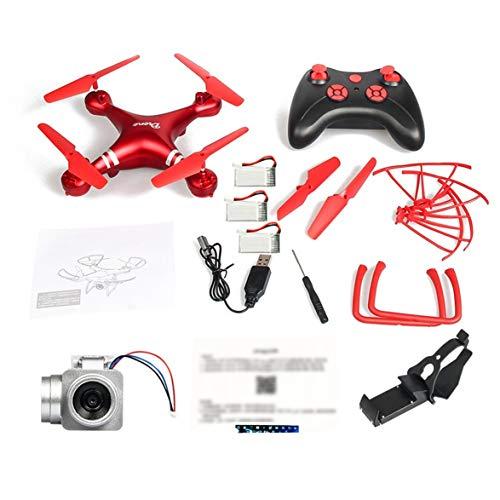 Heaviesk LF608 RC Drone Selfie Drone Selfie Drone Quadricottero Pieghevole Professionale con Fotocamera da 0,3 MP e 3 batterie VS droni KY601S HJ14