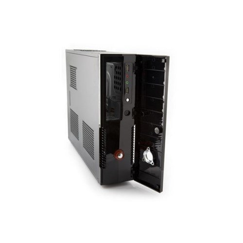 Itek its102b nemo ultra slim tower case per pc, nero