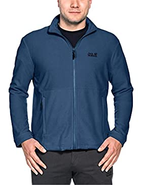 Jack Wolfskin Mens Kiruna Lightweight Full Zip Fleece Jacket