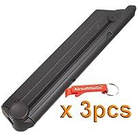 WE-Tech 15rd Cargador para Luger P08 (Parabellum) Airsoft GBB X 3pcs - Llavero Incluido