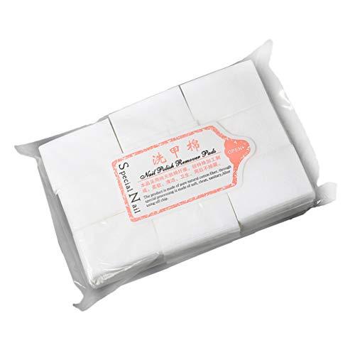 IPOTCH 700 Stück Baumwolle Kosmetik Pads Einweg Make Up Entfernen Pads Wattepads Nail Wipes