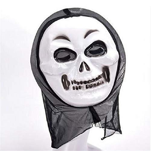 Kostüm Maske Kinder Gas - Vogue Fang Screaming Ghost Mask Halloween Maske Kostüm Maske Falsches Gesicht Multi-Shaped Scary Halloween Cosplay