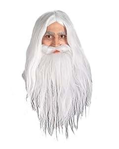 Gandalf perruque et Barbe Set