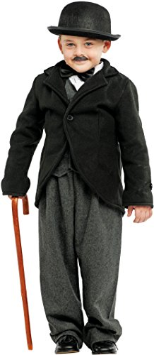 Carnevale Venizano CAV53180-XL - Kinderkostüm TOTO'-CHARLOT - Alter: 7-10 Jahre - Größe: XL (Toto-kostüm Für Kinder)